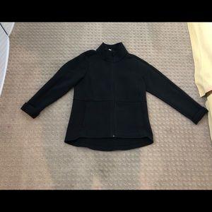 "Lululemon ""On the Go"" black jacket"
